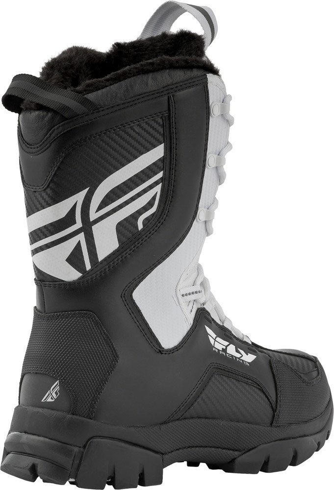 Fly Racing Snowmobile Marker Boots Choose Size White
