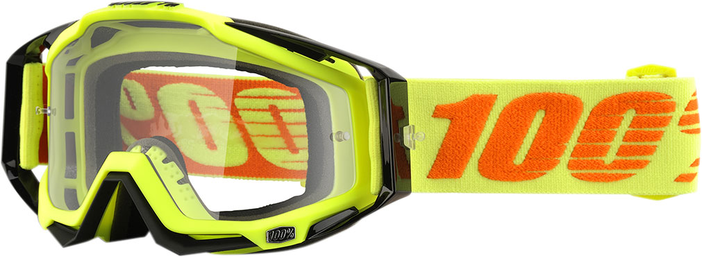 100% Racecraft Goggles w/ Clear Lens
