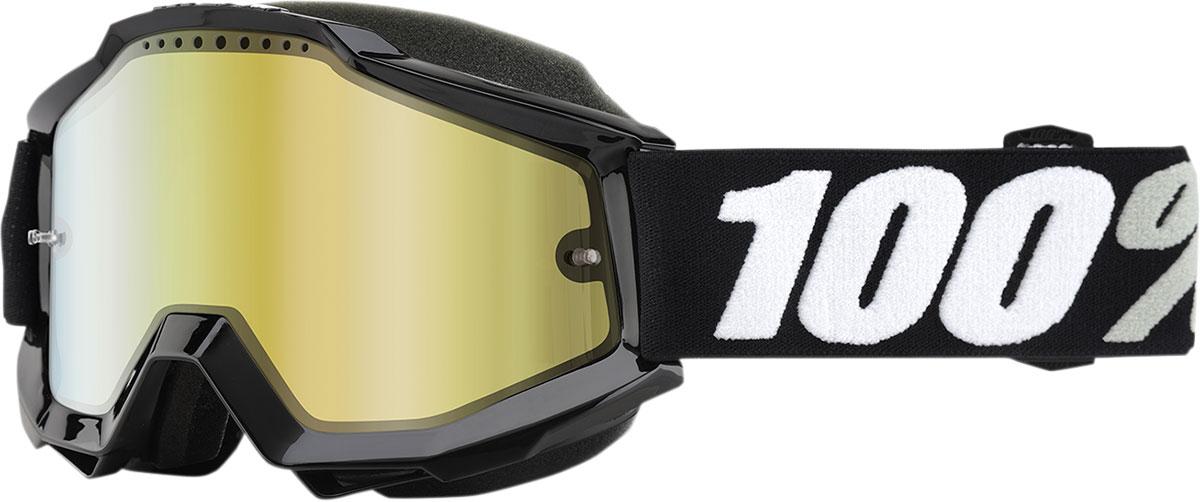 100% Accuri Snow Goggles w/ Mirror Lens