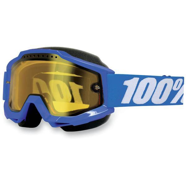 100% Accuri Snow Goggles w/ Yellow Lens