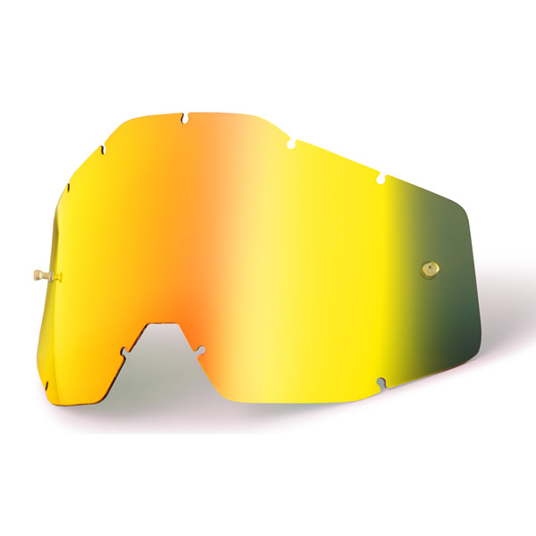 100% Replacement Lens for Racecraft/Accuri/Strata Goggles