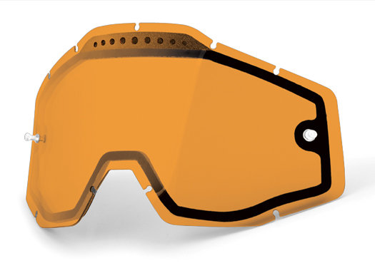 100% Vented Dual Pane Lens for Racecraft/Accuri/Strata Goggles