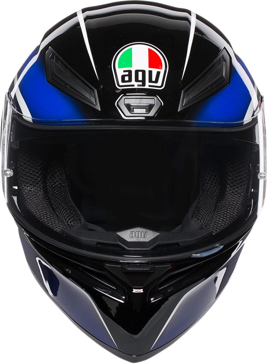 Agv K1 Qualify Sport Helmet Black Blue