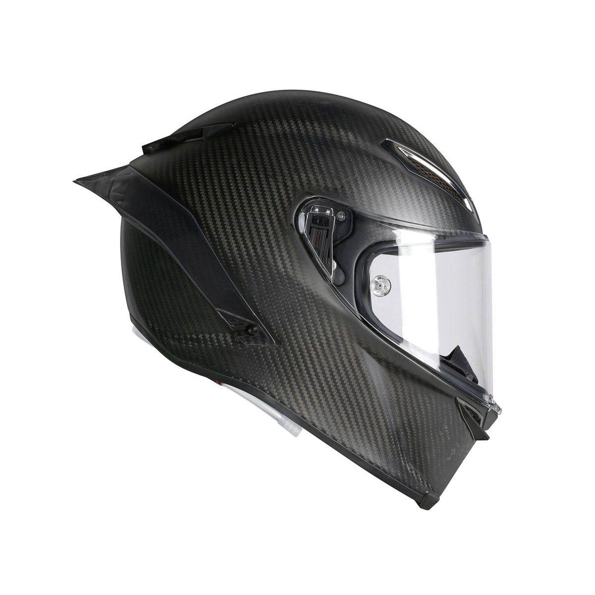 Carbon Fiber Motorcycle Helmets >> Agv Pista Gp R Carbon Full Face Motorcycle Helmet Matte Carbon Fiber