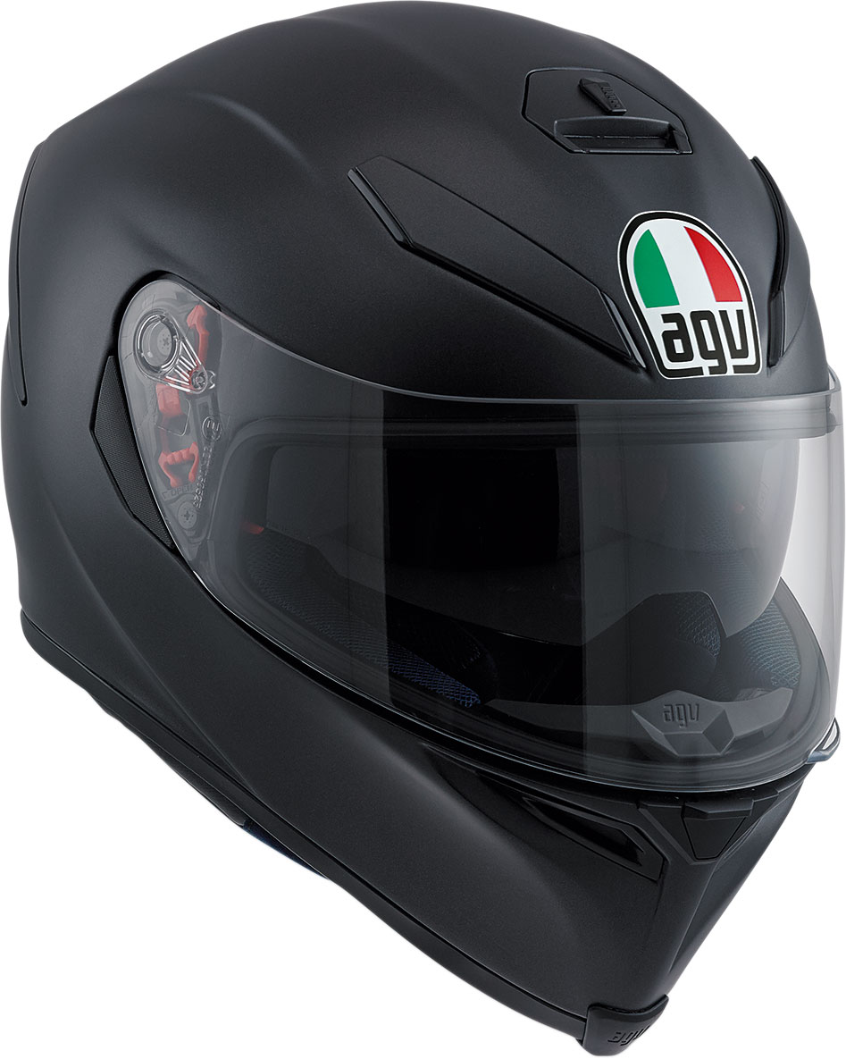AGV K5 S Full-Face Motorcycle Helmet (Matte Black)