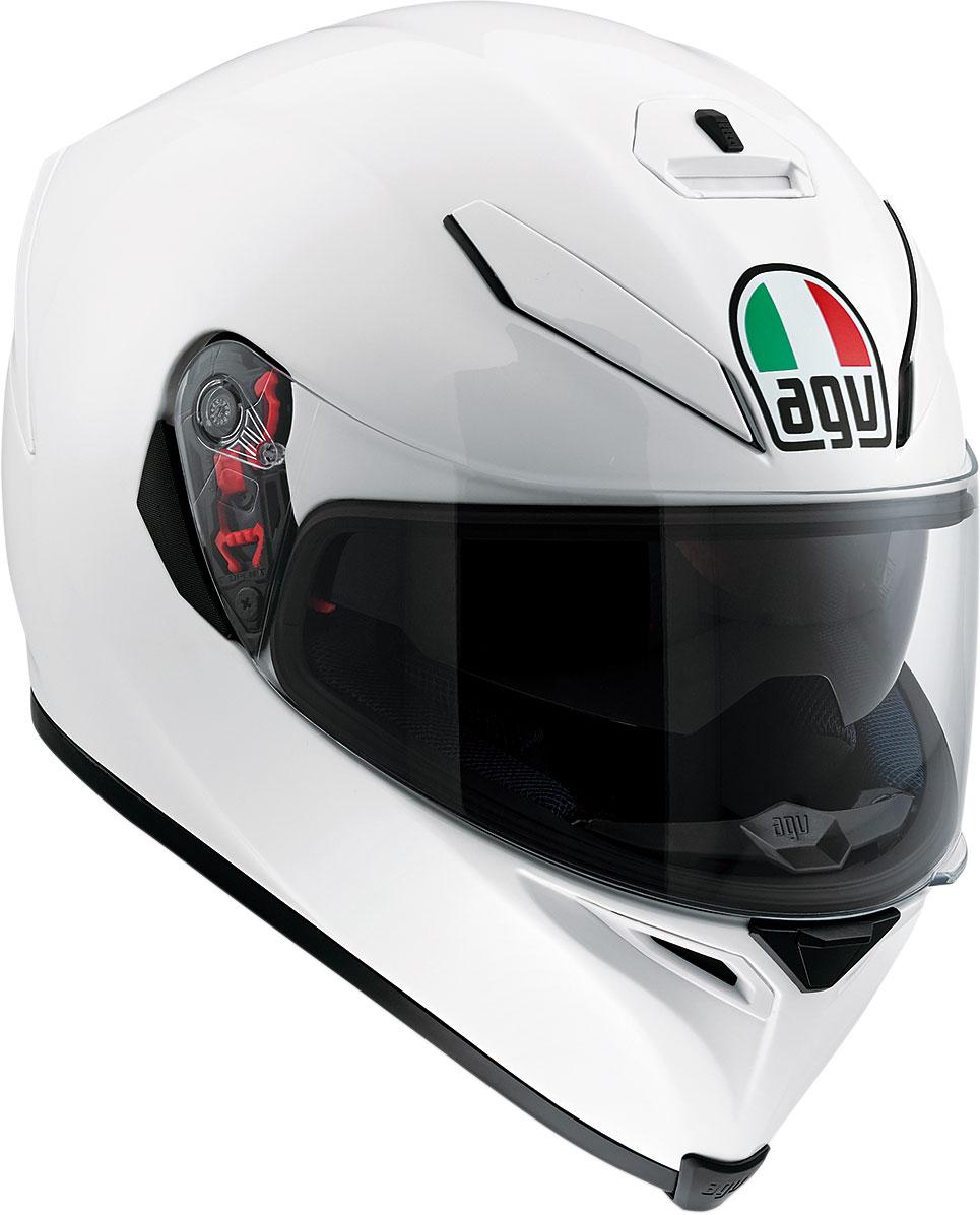 AGV K5 S Full-Face Motorcycle Helmet (Pearl White)