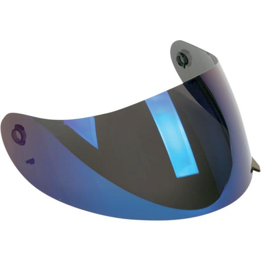 AGV Replacement Visor/Shield for K3 & K4 Helmets (Iridium Blue Anti-Scratch)