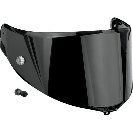 AGV Race Visor/Shield for Pista GP/Corsa/GT Veloce (Dark Smoke Anti-Scratch)