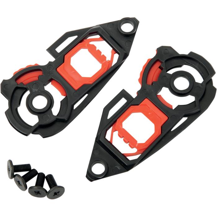 AGV Replacement Pivot Kit w/Screws for Horizon/Skyline/K3 SV/K5 Helmet