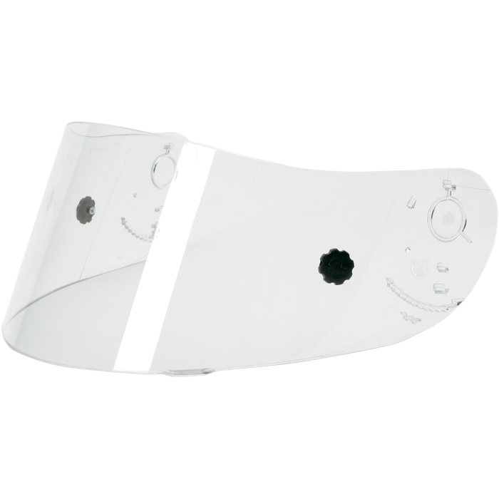 AGV Race Visor/Shield for Ti-Tech Helmets and Other Models (Clear)