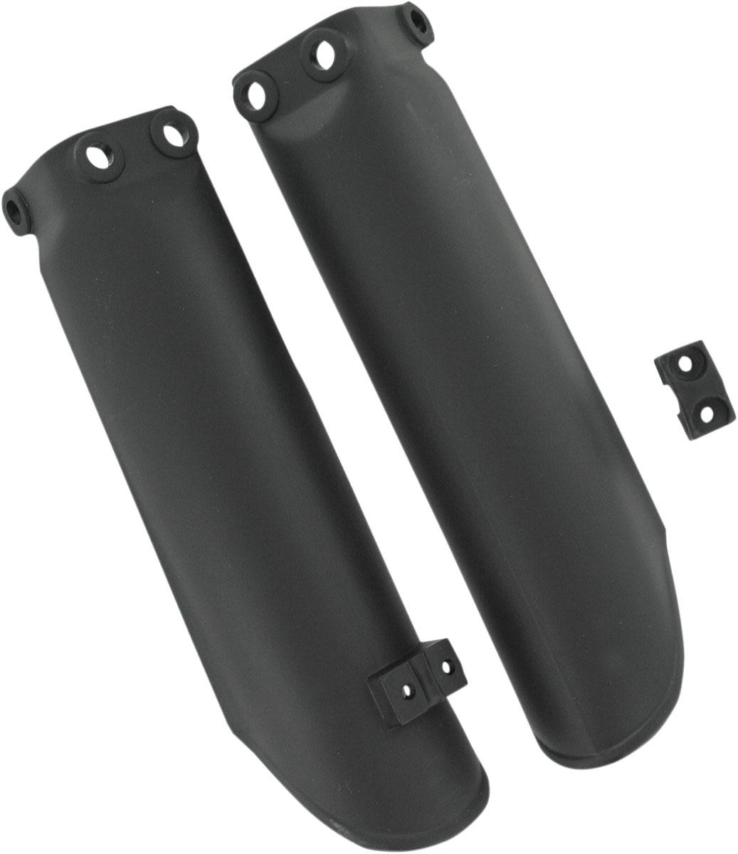 ACERBIS Lower Fork Cover Set (Black)