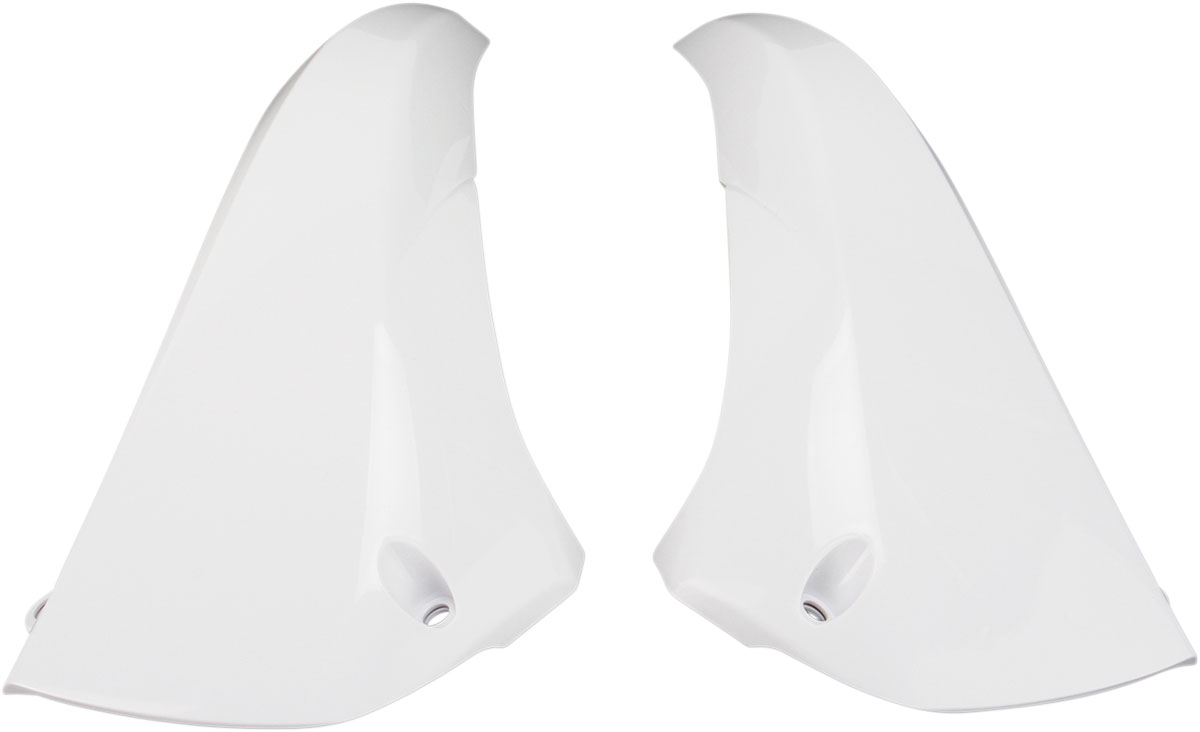 ACERBIS Upper Radiator Shrouds/Covers (White)