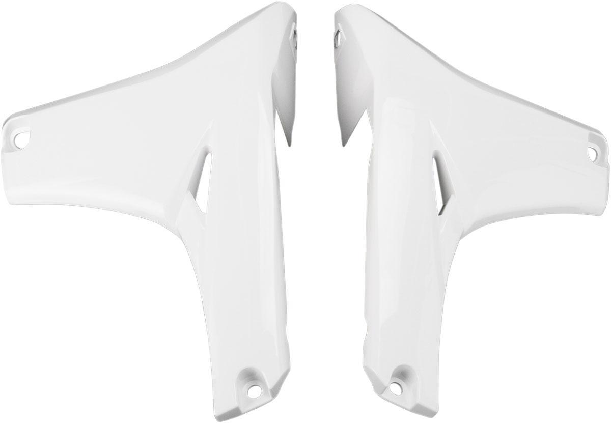 ACERBIS Lower Radiator Shrouds/Covers (White)