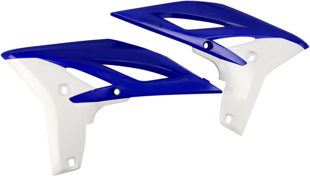 ACERBIS Radiator Shrouds/Covers (Blue/White)