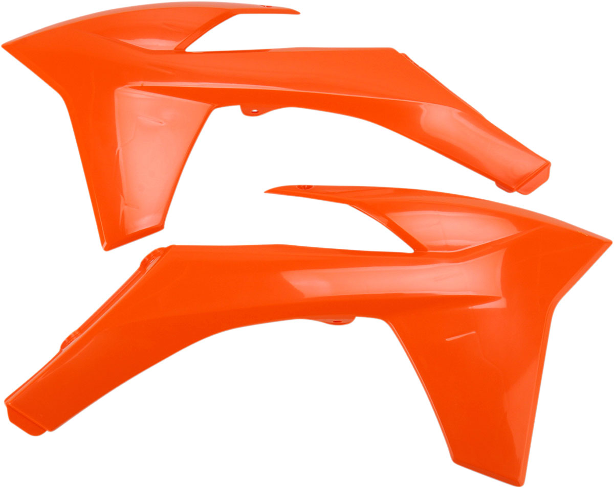 ACERBIS Radiator Shrouds/Covers (Orange)