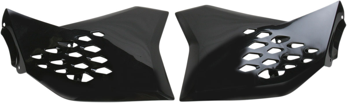 ACERBIS Radiator Shrouds/Covers (Black)