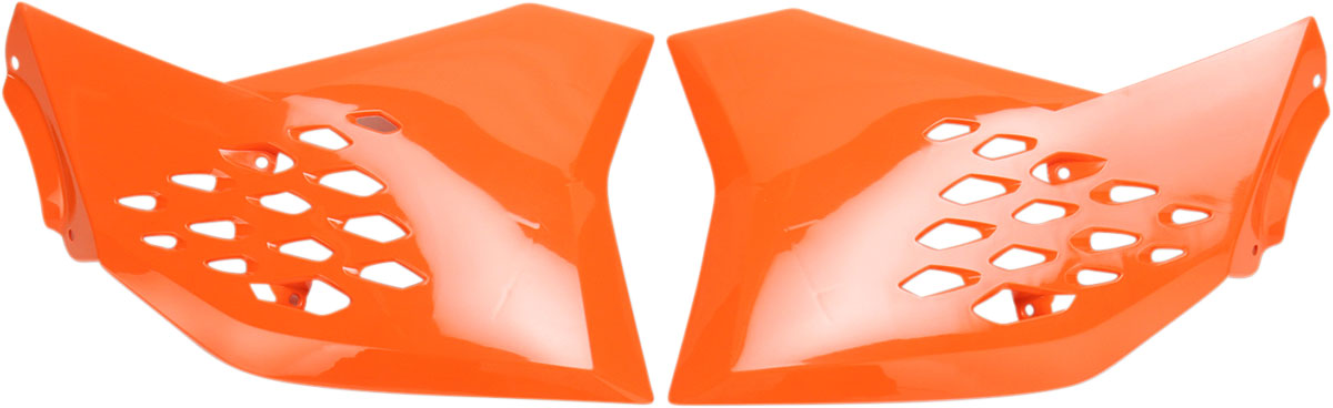 ACERBIS Radiator Shrouds/Covers (Orange)