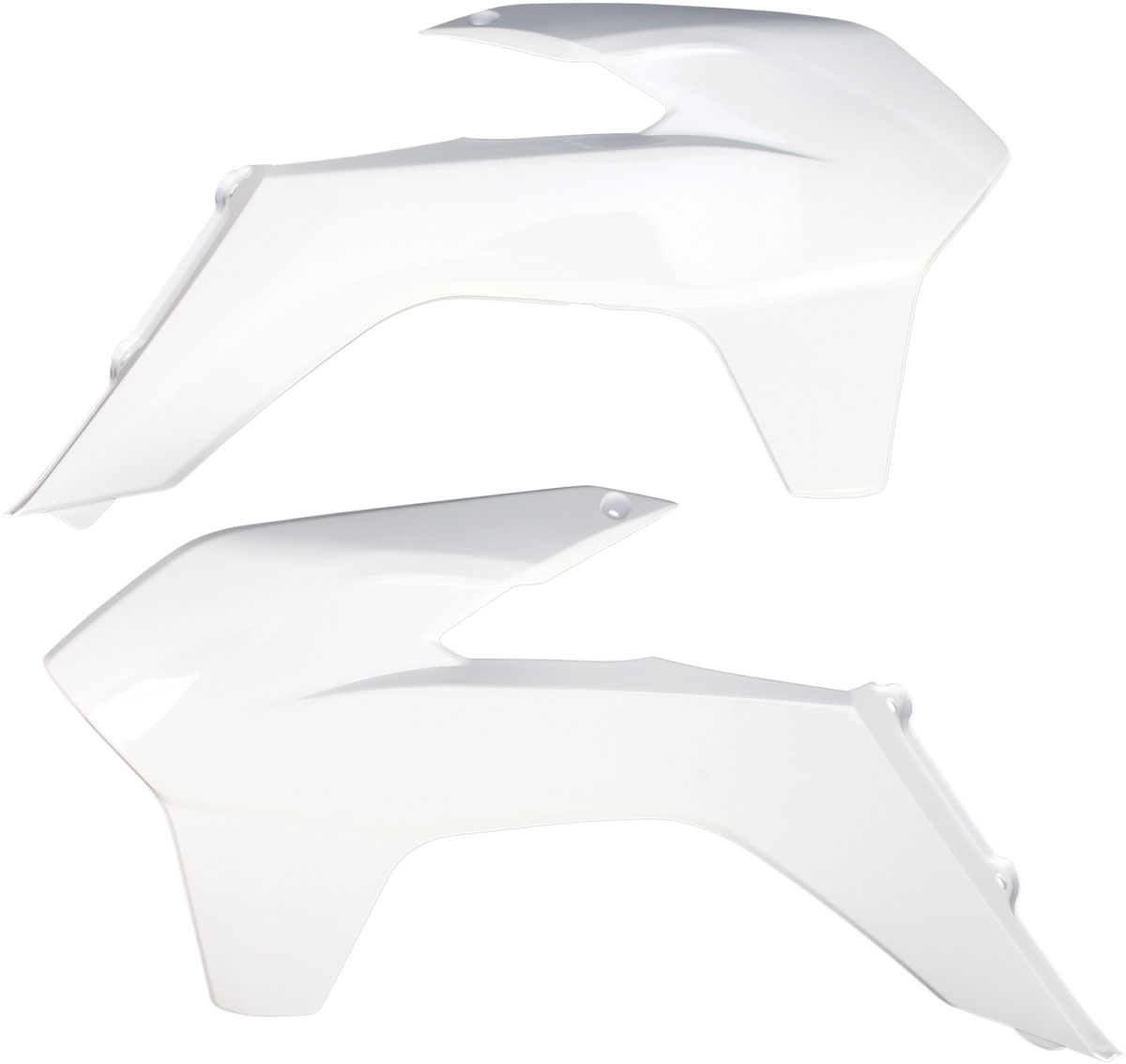 ACERBIS Radiator Shrouds/Covers (White)