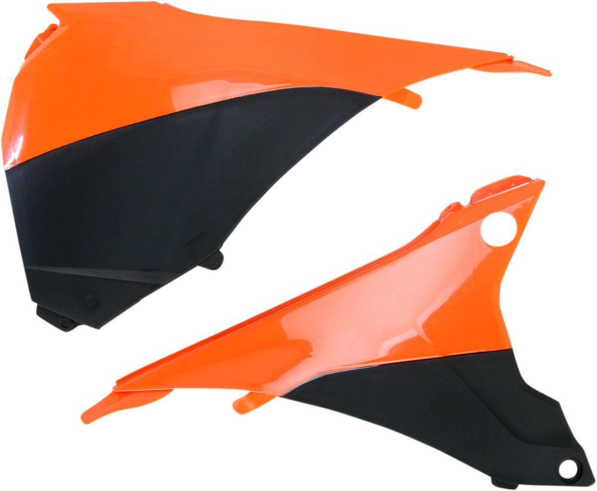 ACERBIS Air Box Cover (Orange/Black)