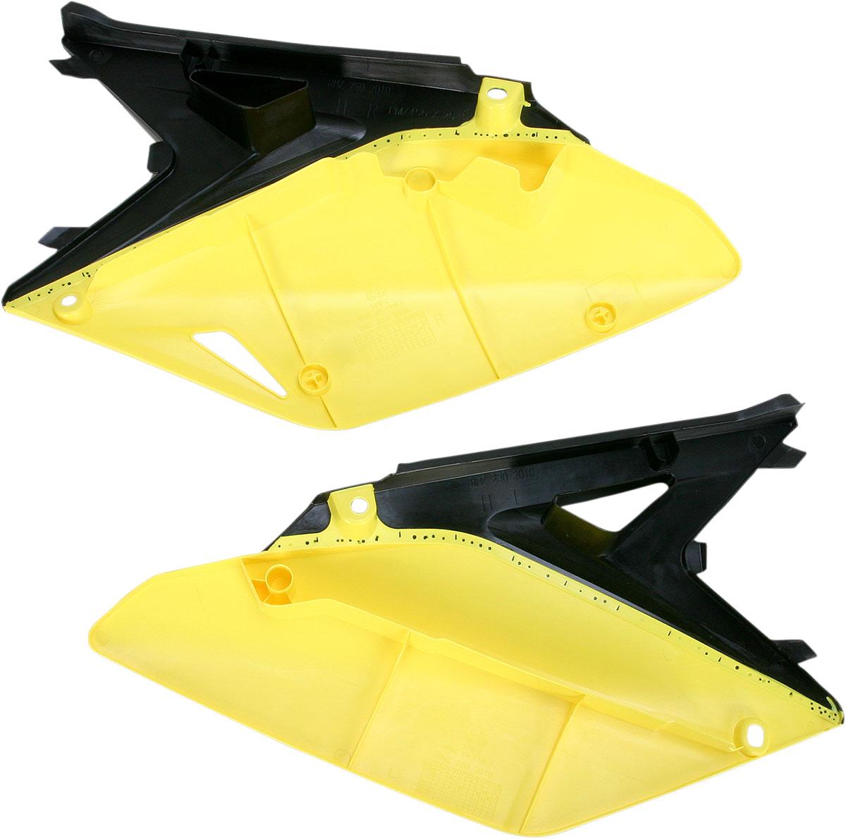 ACERBIS Side Panels (Black/Yellow)