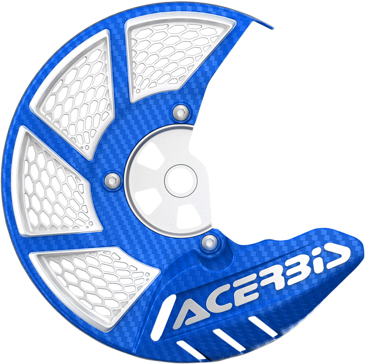 ACERBIS X-Brake Vented Front Disc Cover (Blue/White)