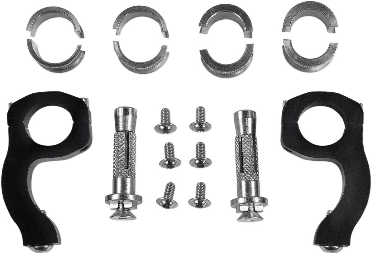 ACERBIS Univerisal Mounting Kit for X-Factor Handguards (Black)