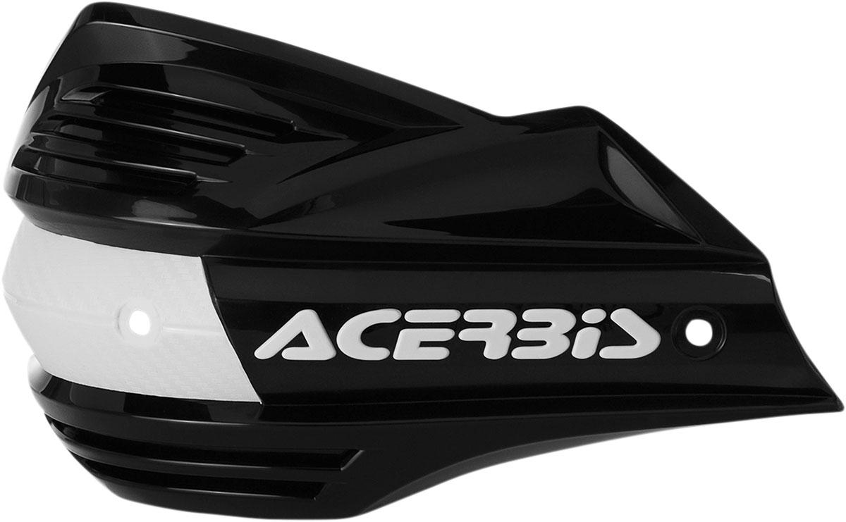 ACERBIS Replacement Plastic Shield for X-Factor Handguards (Black)
