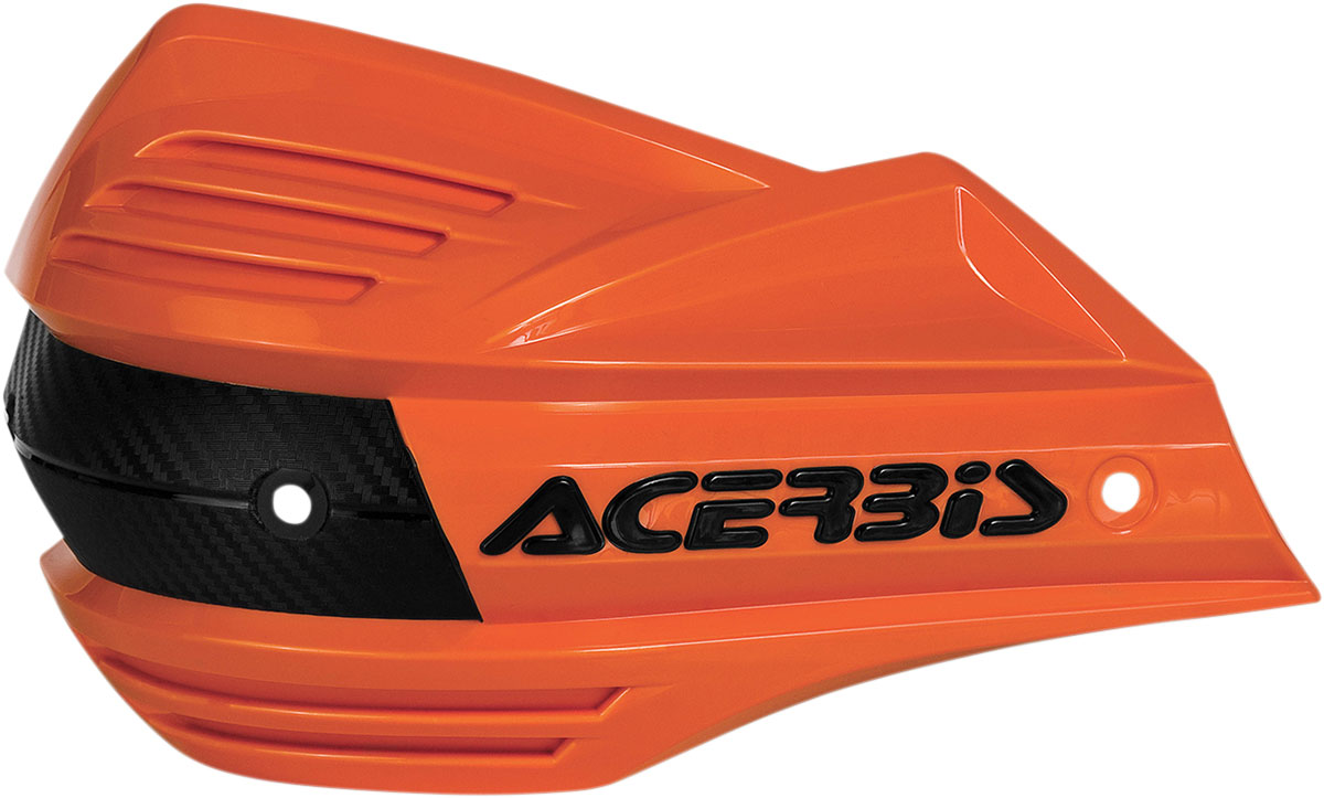 ACERBIS Replacement Plastic Shield for X-Factor Handguards (Orange/Black)