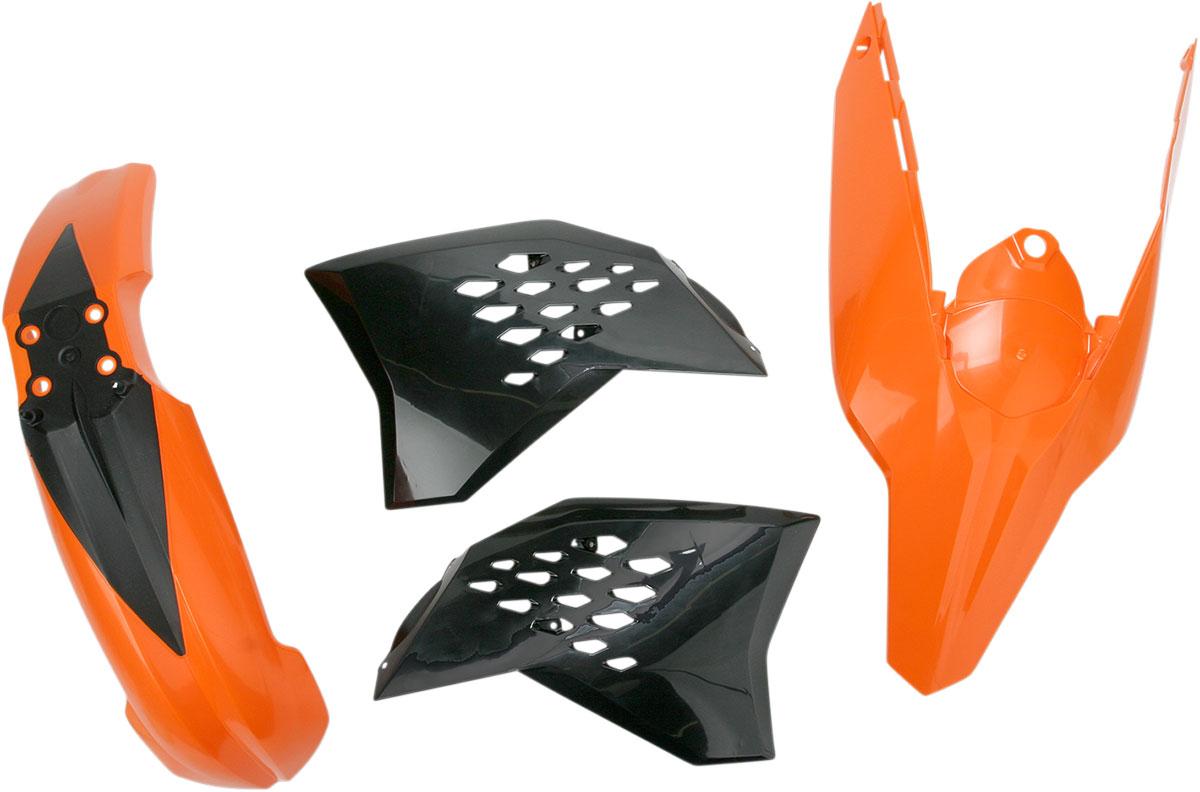 ACERBIS Standard Plastic Kit (Orange OEM '09)