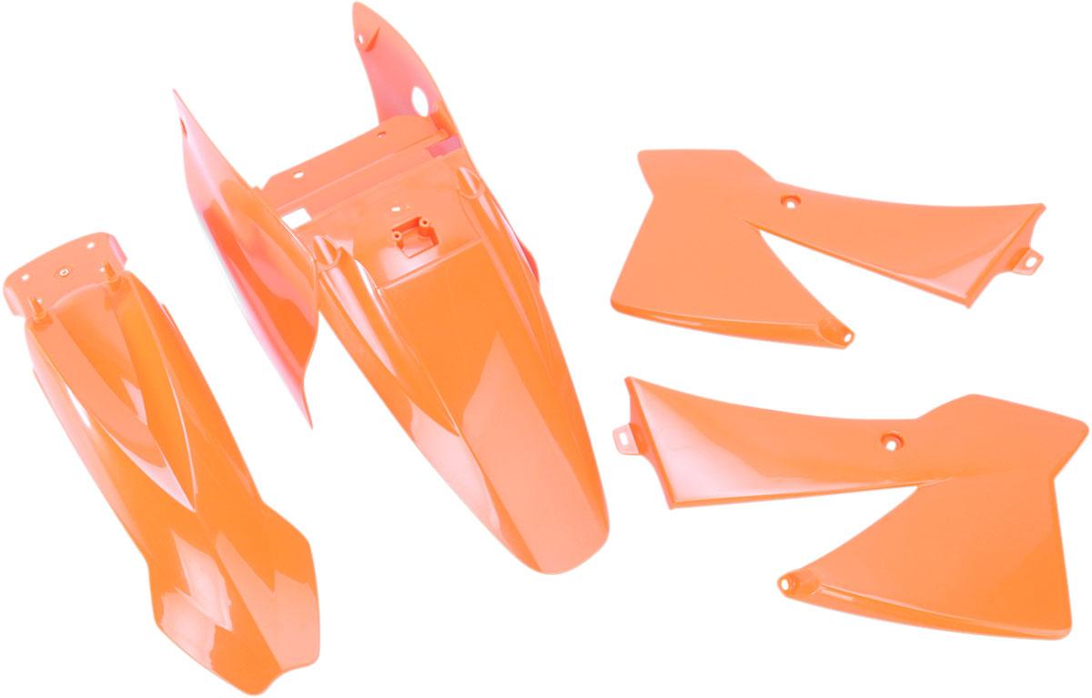 ACERBIS Standard Plastic Kit (Orange OEM '08)