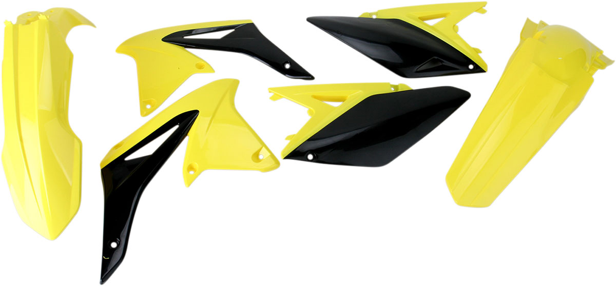 ACERBIS Standard Plastic Kit (Yellow OEM '12)