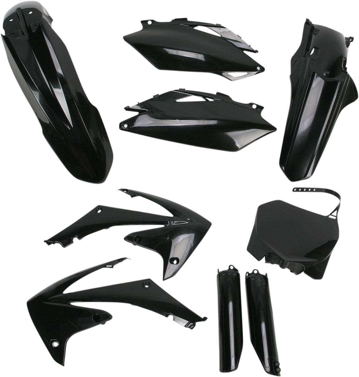 ACERBIS Full Plastic Kit (Black)