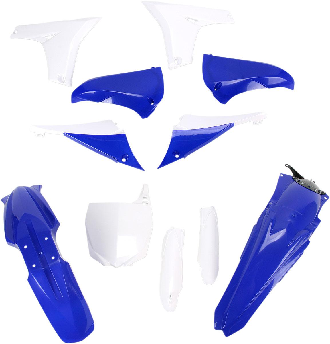 ACERBIS Full Plastic Kit (Blue OEM '11)