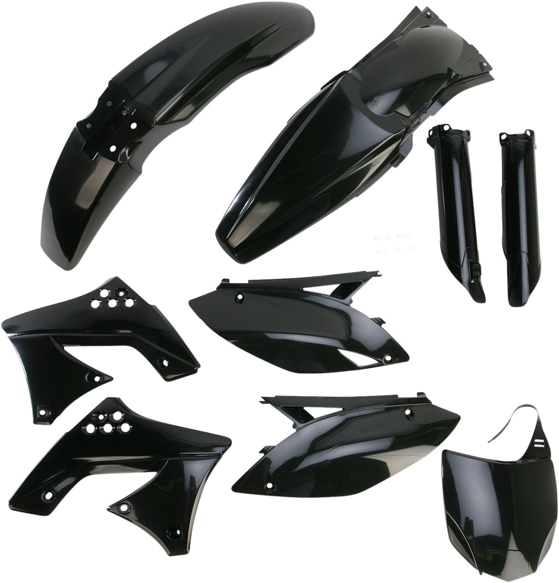 ACERBIS Full Plastic Kit (Black)