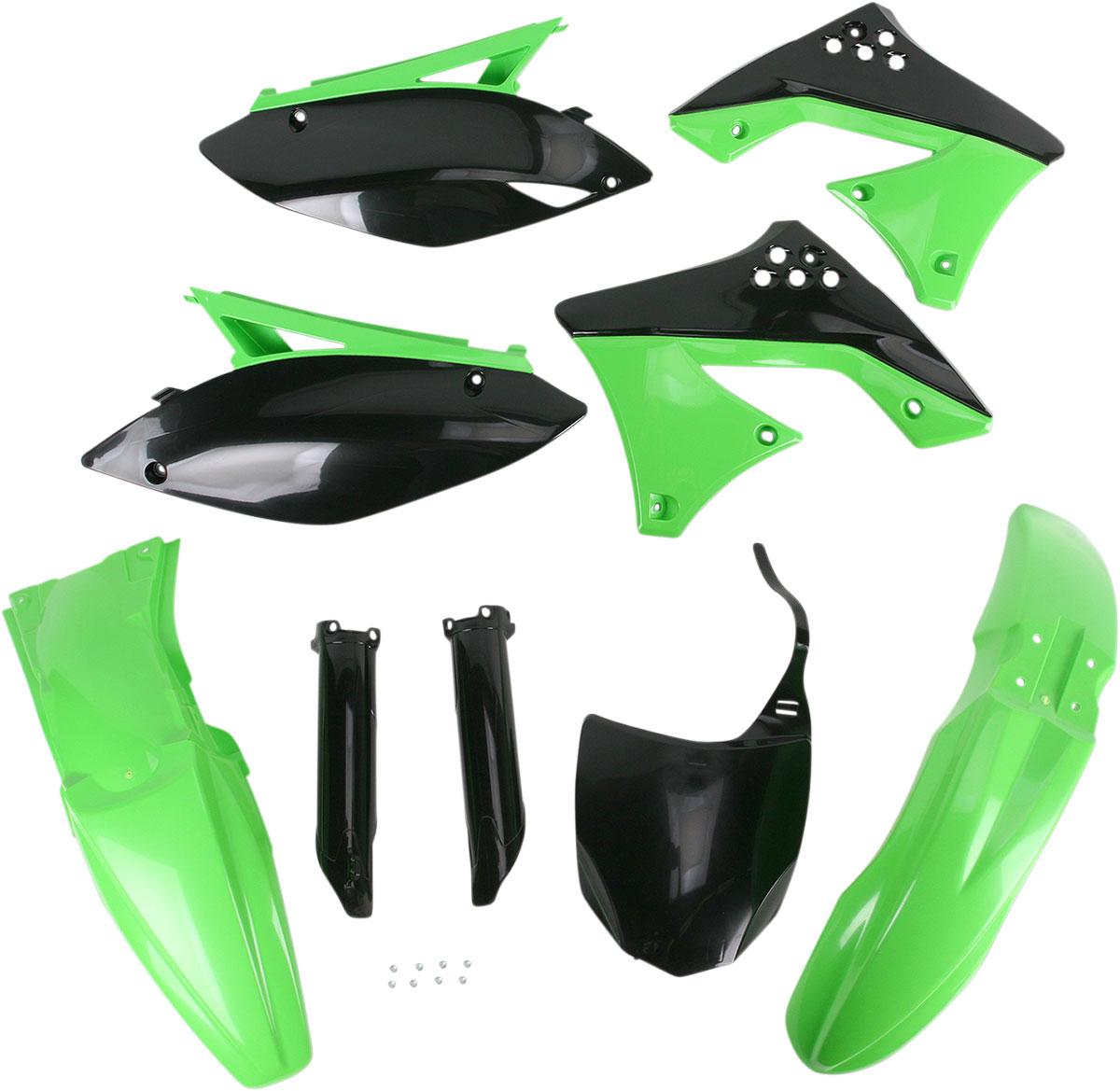 ACERBIS Full Plastic Kit (Green OEM '10/11)