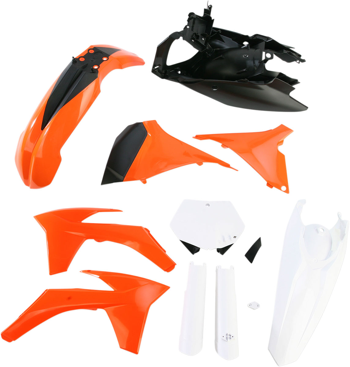 ACERBIS Full Plastic Kit (Orange OEM '11)