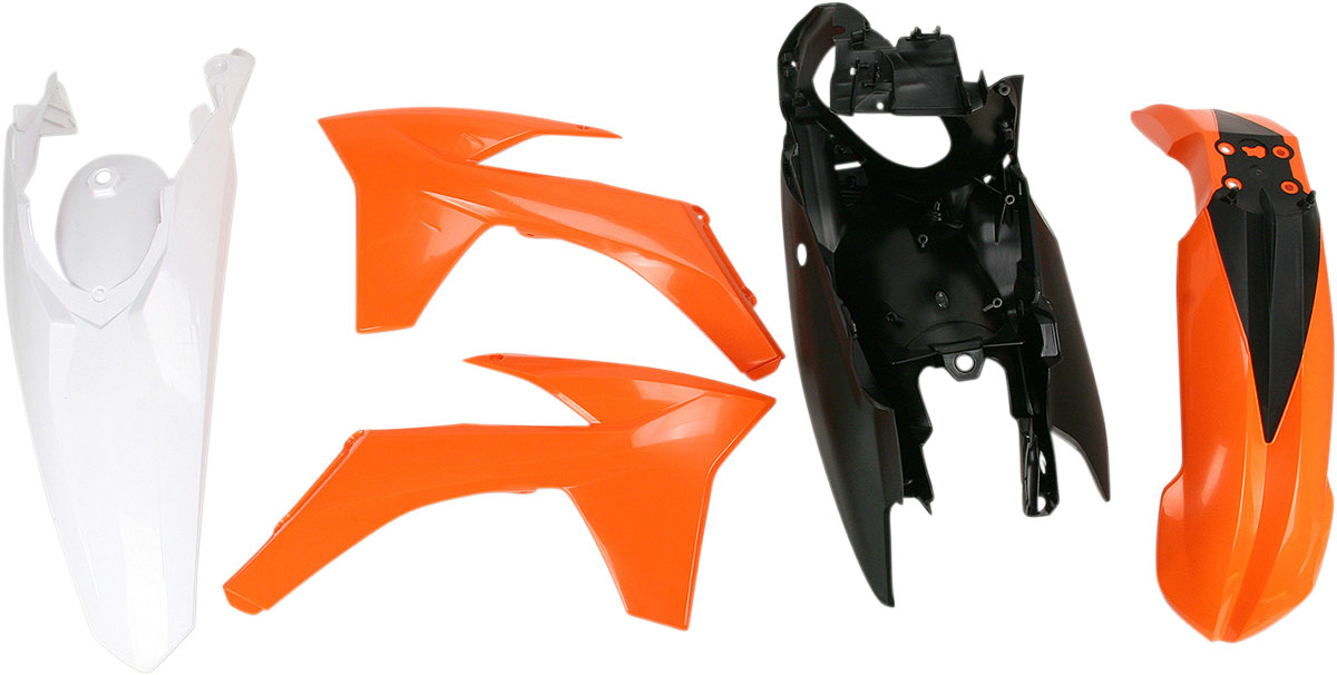 ACERBIS Standard Plastic Kit (Orange OEM '11)