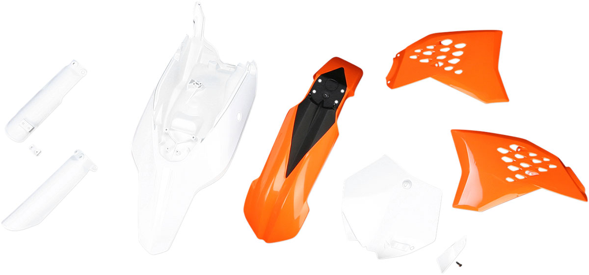 ACERBIS Full Plastic Kit (Orange OEM '12)