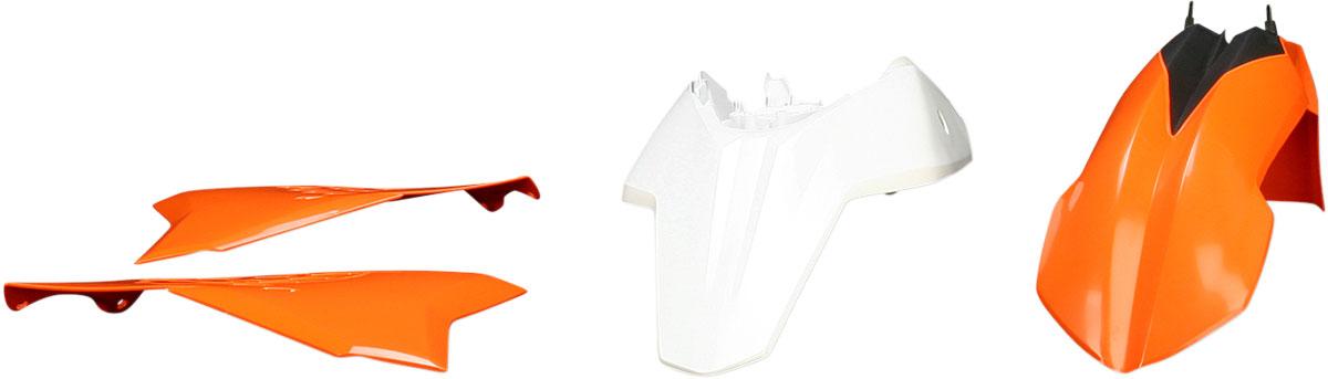 ACERBIS Standard Plastic Kit (Orange OEM '12)