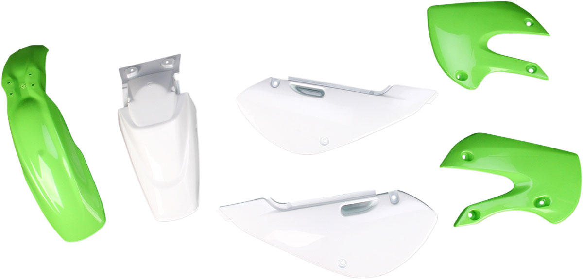 ACERBIS Standard Plastic Kit (Green OEM '13/14)