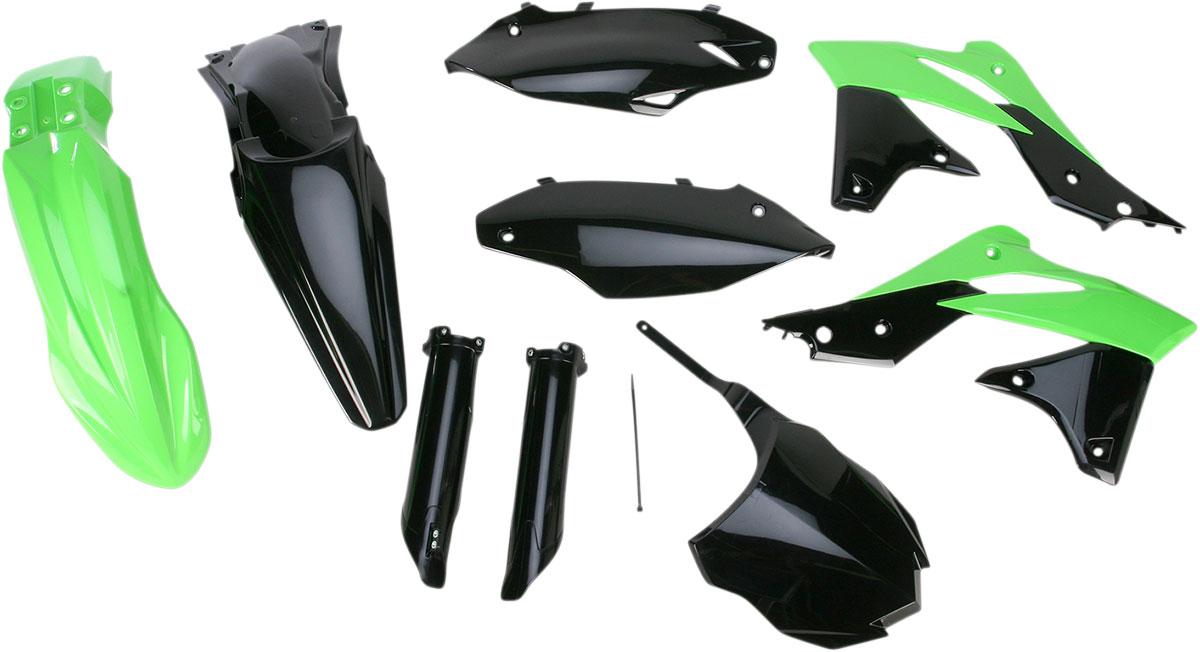 ACERBIS Full Plastic Kit (Green/Black OEM '13)