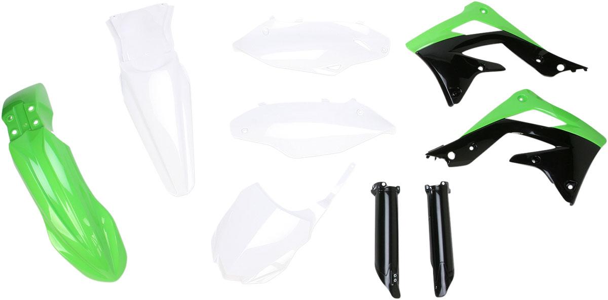 ACERBIS Full Plastic Kit (Green/White OEM '13)