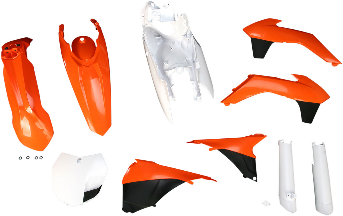 ACERBIS Full Plastic Kit (Orange/Black OEM '13)