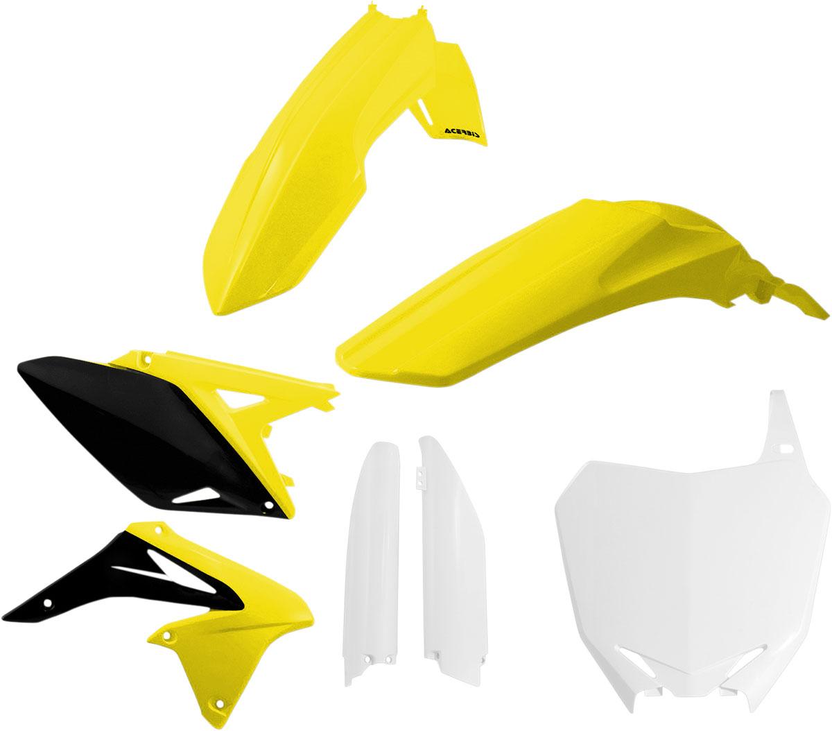 ACERBIS Full Plastic Kit (Yellow OEM '14)