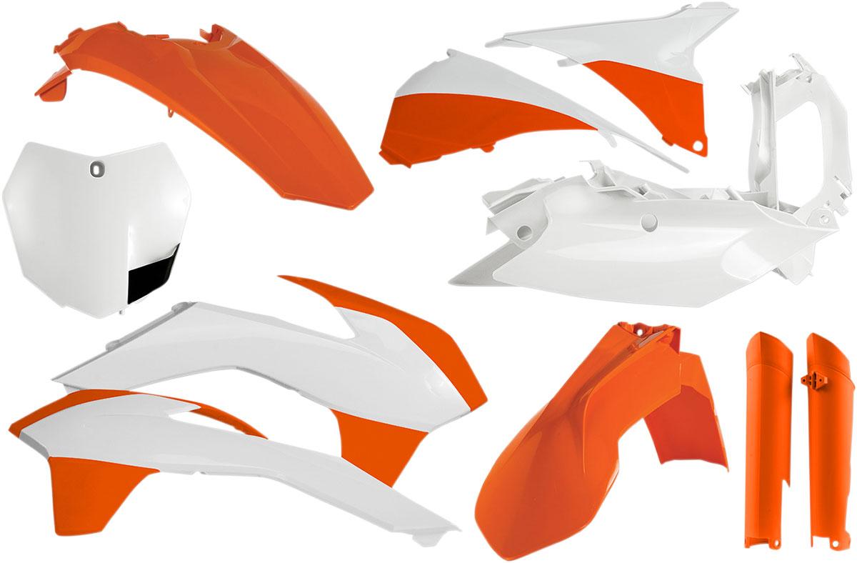ACERBIS Full Plastic Kit (Orange (Factory KTM '14)