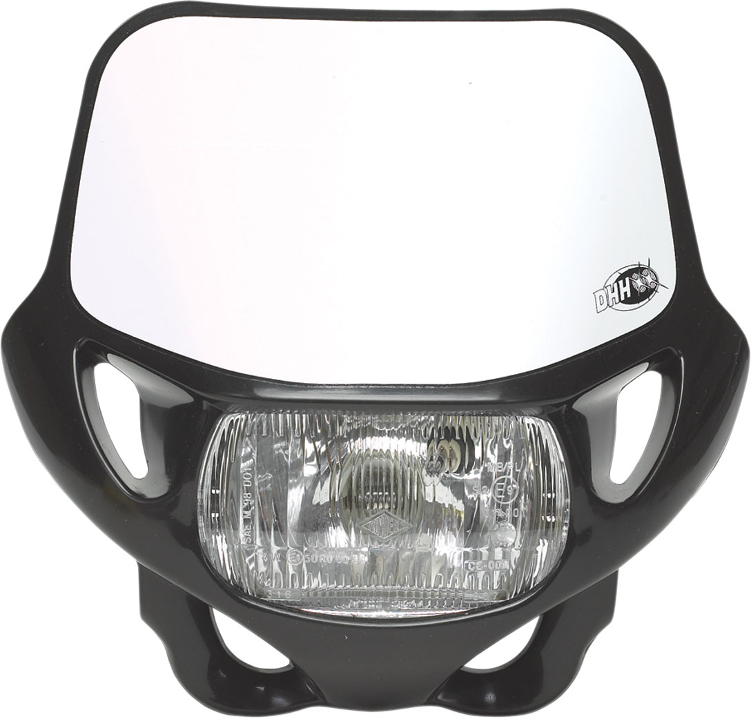 ACERBIS DHH CE/DOT Certified Headlight (Black)