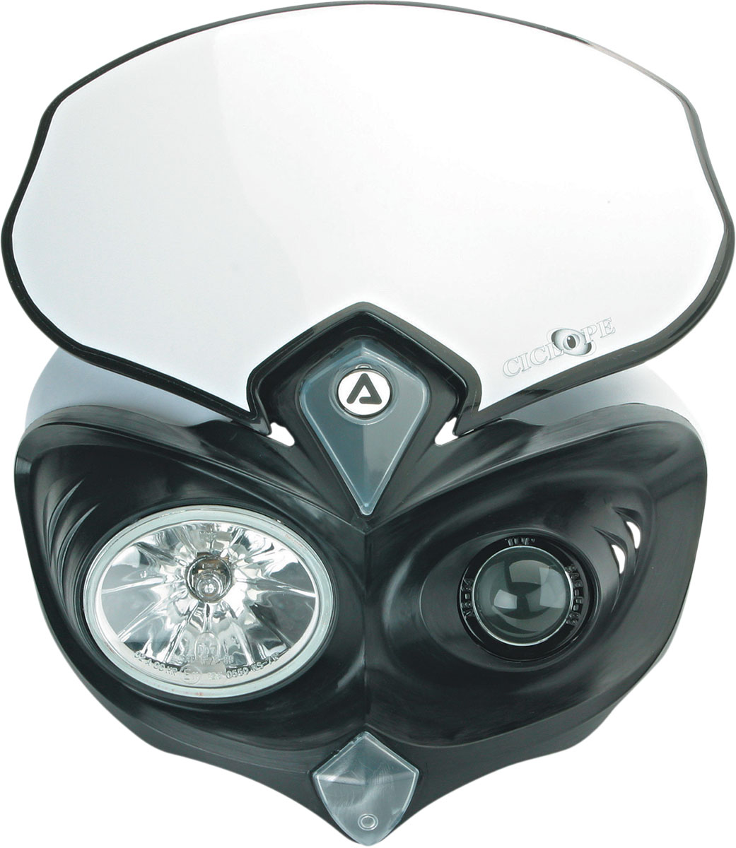 ACERBIS Cyclope DOT/SAE Approved Headlight (Black)