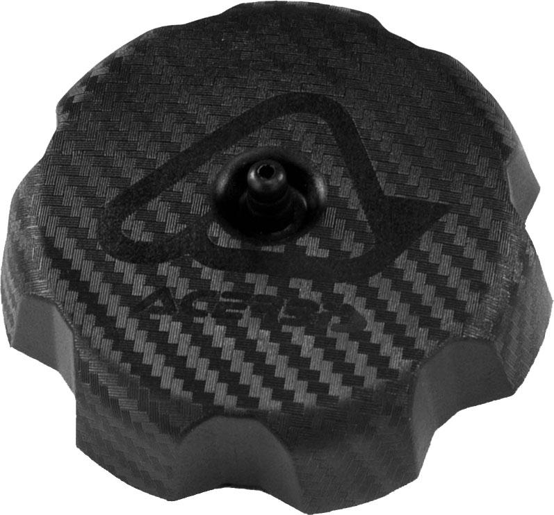 ACERBIS Large Gas/Fuel Cap for Acerbis Fuel Tanks (Black Carbon-Look)