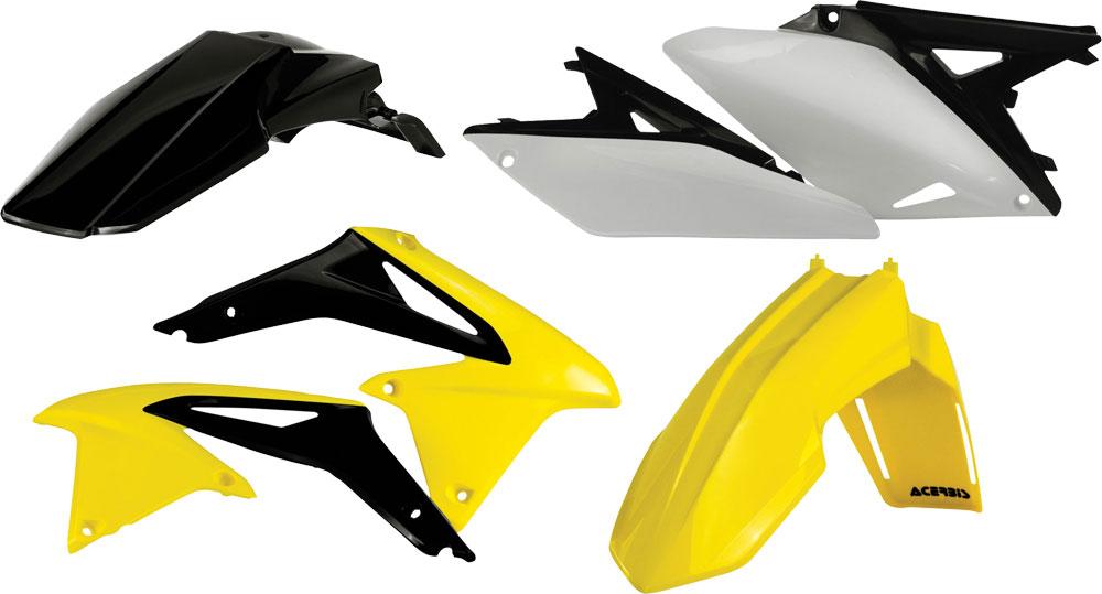 ACERBIS Standard Plastic Kit (Yellow OEM '13)