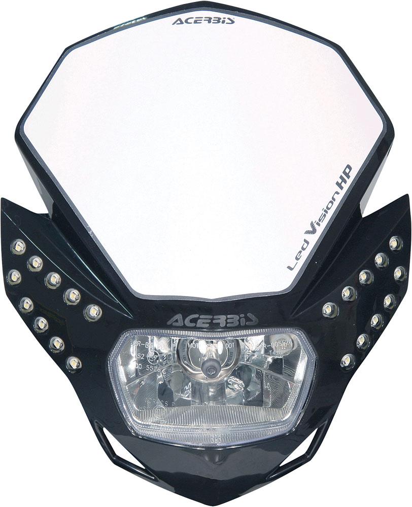 ACERBIS LED Vision HP Headlight (Black)